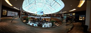 Figure 1 - Panoramic Image of the Natick Mall taken with my IPhone 4s