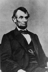 Figure 3 - Mathew Brady, Lincoln Portrait, 1860 from the Wikicommons and in the public domain.