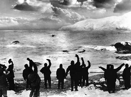 Figure 3 - Shackleton's Return to Elephant Island from the Wikicommons and in the public domain.