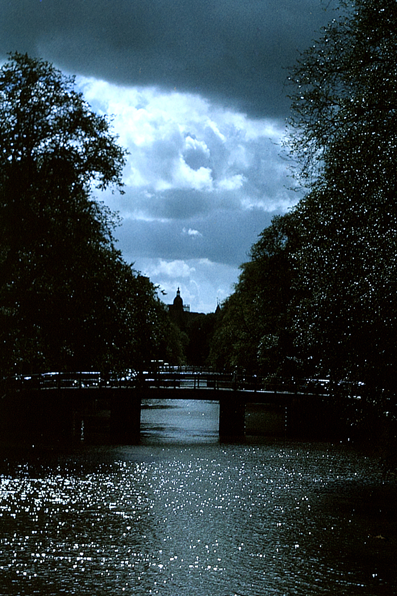 Figure 1 - Amsterdam, 1970, digitized from an Ektachrome transparency. (c) DE Wolf 2013.