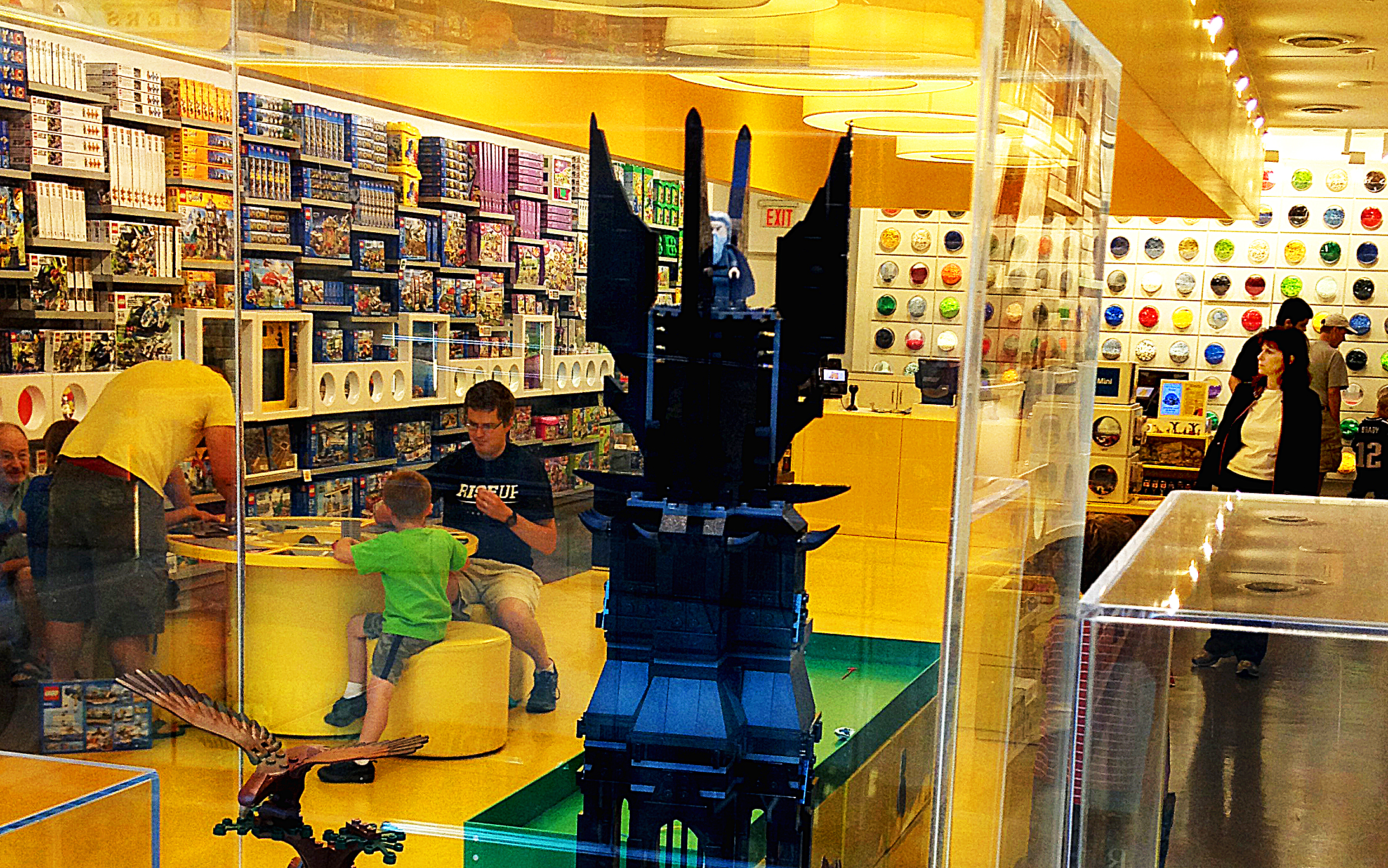 Figure 1 - The Tower of Orthanc, (c) DE Wolf 2013