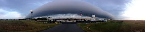 Figure 2 - Roll cloud forming over Sterling, VA.  From the US National Weather Service and in the public domain.