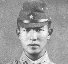Figure 1 - Hiroo Onoda in 1944 as a young Imperial Japanese officer.  Image from the Wikipedia, originally taken by the governement of Japan and in the public domain.