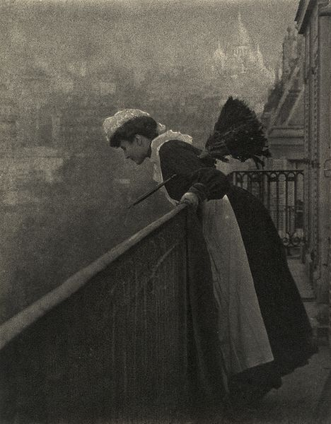 Figure 1 - Emile Joachim Constant Puyo, Montmartre, ca. 1906. This is one of the images featured in the MFA exhibit on Pictorialism. This image is from the Wikimediacommons and from the Metropolitan Museum of Art in NYC. In the public domain in the United States because it is more than 75 yrs. old.
