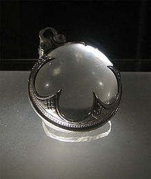 Figure 1 - Viking aspheric Visby Lens. From the Wikimedia Commons originally posted to Flickr.com, by Jonund and is licensed under the Creative Commons Attribution-Share Alike 2.0 Generic license.