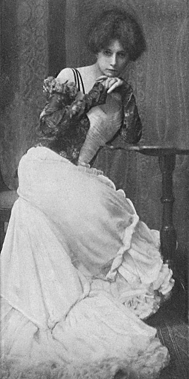Figure 1 - Self Portrait of Zaida Ben-Yusuf 1901, from the Wikipedia and the US LOC, in the public domain.