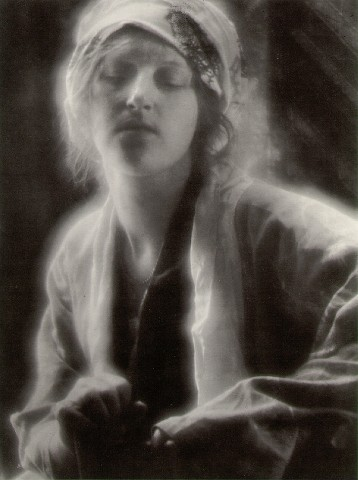 Figure 1 - Dream, 1910 by Imogen Cunningham. From the Wikipedia and in the public domain because of its age.